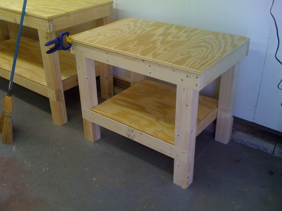 Homemade wedging table
