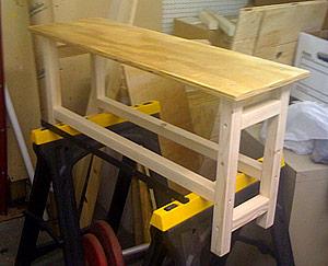 The latest studio furniture project