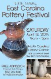 2014 Eastern NC Pottery Festival Poster